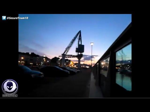 Ireland Man Surrounded By UFOs On Evening Dog Walk! 5/1/16