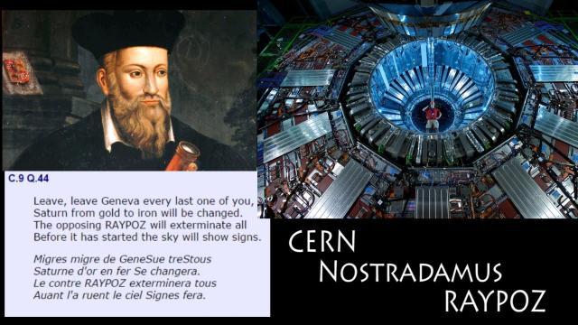 CERN - Nostradamus - RAYPOZ