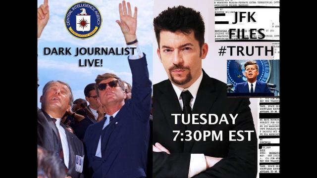 DARK JOURNALIST & ALEXANDRA BRUCE LIVE ON JFK ASSASSINATION RECORDS: CIA UFO FILES REDACTED