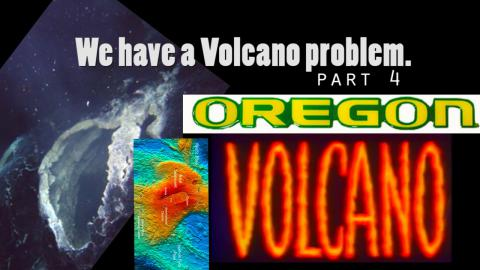Volcano erupts off of Oregon in the Pacific Coast!
