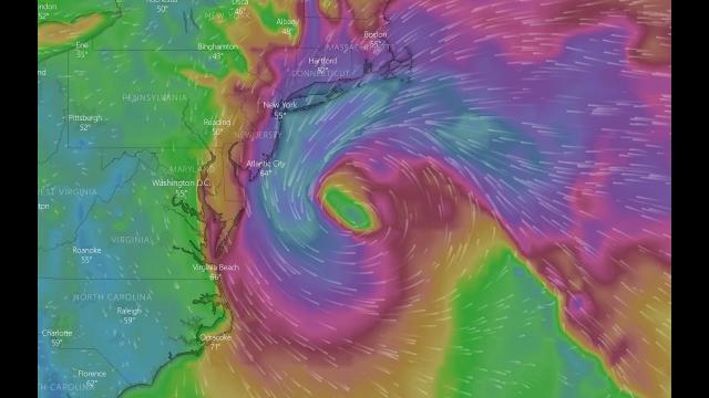 NJ NY NE Coastal Storm could be a 990 mb Hurricane says the new NAM