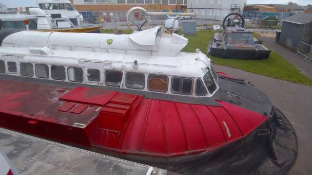 The Hovercraft Museum and the Daedlus Slipway Intrigue 4K