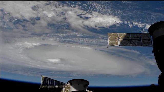 Category 3 Hurricane Dorian Seen From Space Station on Sept. 5