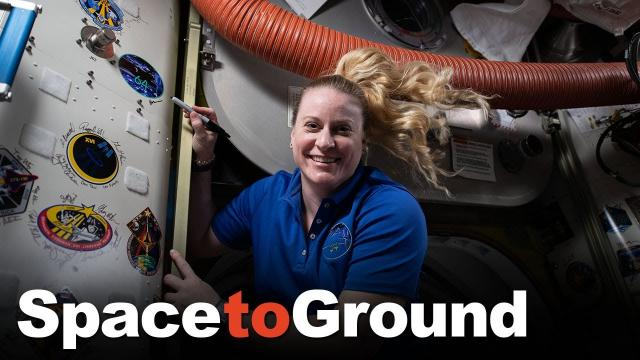 Space to Ground: Signing Out: 04/16/2021
