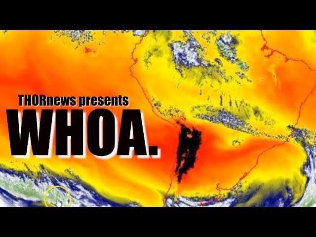 Wild Weather Days Ahead - The Atlantic, N. USA & S. America