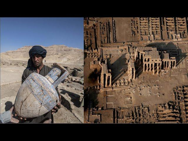 """Lost Golden City"" of Ancient Egypt Discovered  2021"