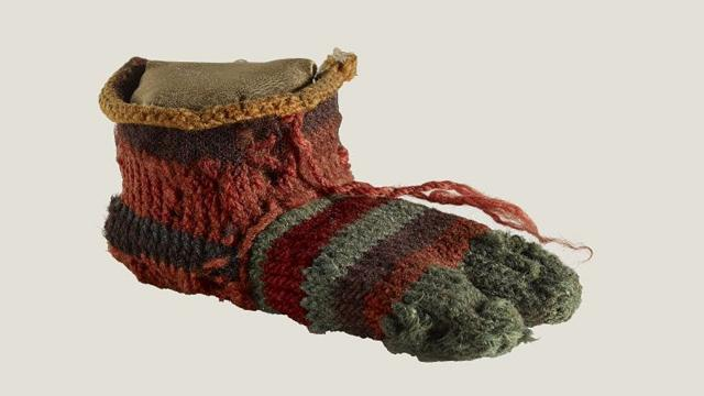 A 1,700-Year-Old Sock Was Unearthed In A Dump, And Experts Are Unraveling Its Colorful Secrets..