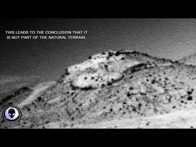 5/17/2014 ALIEN SAUCER FOUND IN NEW MARS ROVER IMAGE - UFO COVERUP