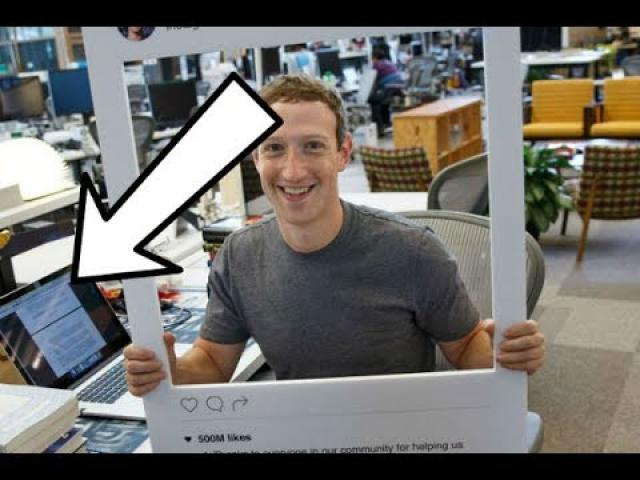 Someone Spotted Something In Background On Mark Zuckerberg's Laptop