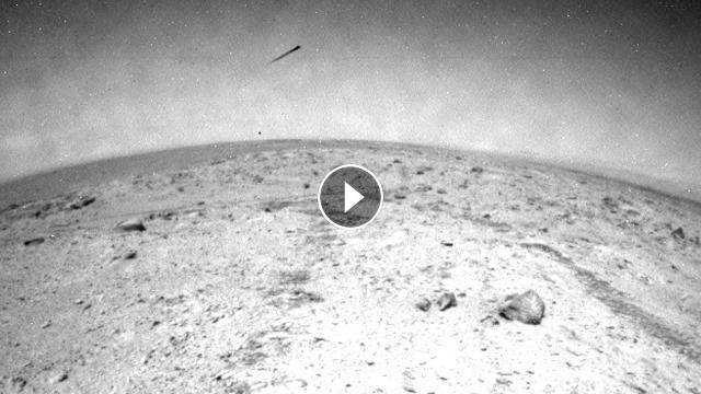 UFO News: UFO Photographed Seen Leaving Mars By The ...