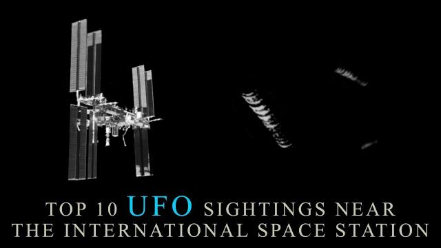 The Top 10 Best UFO Sightings Near The International Space Station. (UFO Sightings)
