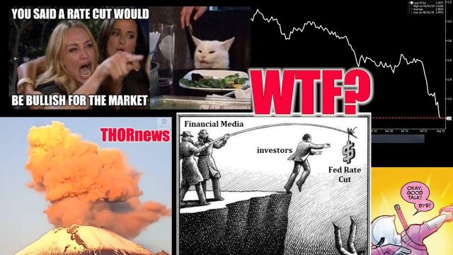 WTF ALERT. Uncharted ECONOMIC Territory & Mexico Volcano WARNING