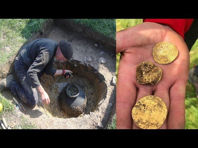 They found Viking coins worth millions using metal detectors but...