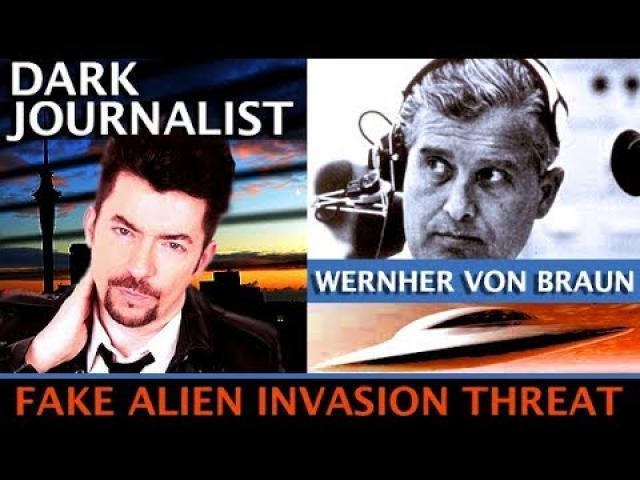 DARK JOURNALIST & DR. JOSEPH FARRELL: FAKE ALIEN INVASION THREAT! THE VON BRAUN UFO CARD 2020