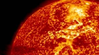 'Canyon of Fire' Created By Solar Filament Eruption   Video