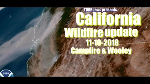Malibu Evacuations - California Wildfire update: Woolsey & Campfire & Hill Fire