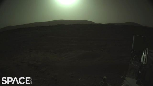 Perseverance sees Sun and more in latest pics from Mars