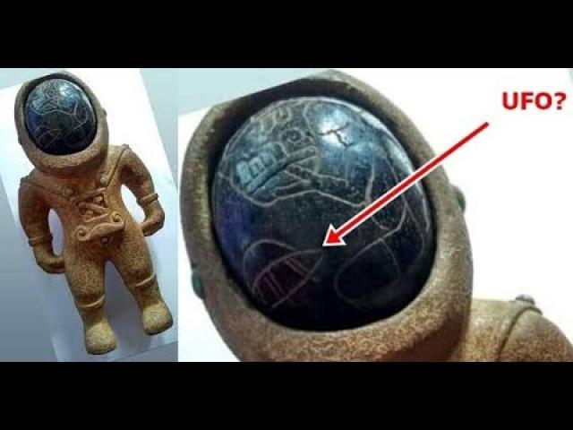 3 thousand-year-old Ancient Astronaut Statue found in Turkey