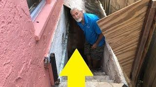 This Family Found Tunnels Under Their Basement; Later They Found Out That They Were Bottling Tunnels