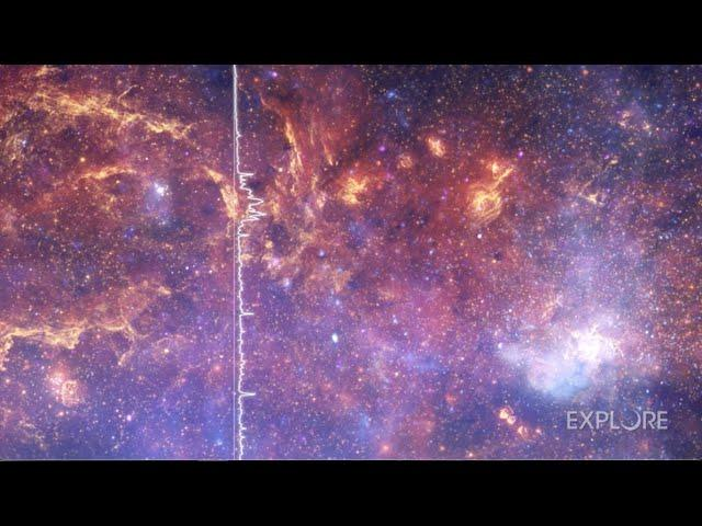 Pillars of Creation, Milky Way's core and more turned into amazing music