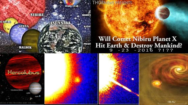 Will Comet Nibiru Planet X hit Earth & destroy Mankind on September 23 2016 ?!??
