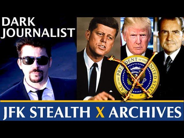 Dark Journalist X Series 88: JFK Assassination Records Trump And Nixon: Bombshell Link Revealed!