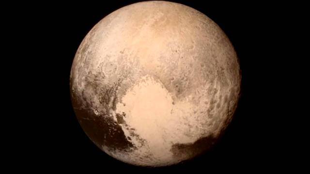 Pluto's Best Look Yet Snapped Hours Before Fly-By | Video