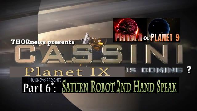 Is Planet IX Perturbing Saturn's NASA Cassini Spacecraft?