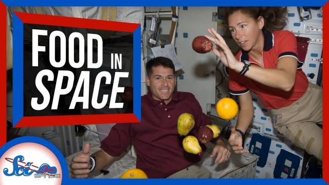 3 Myths About Astronaut Food