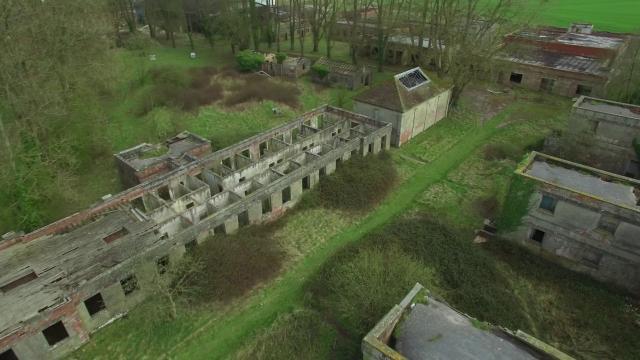 RAF Yatesbury 4k EXPLORE BY DRONE 24p