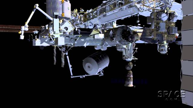 ISS Module Move Makes Way For U.S. Commercial Spacecraft | Animation