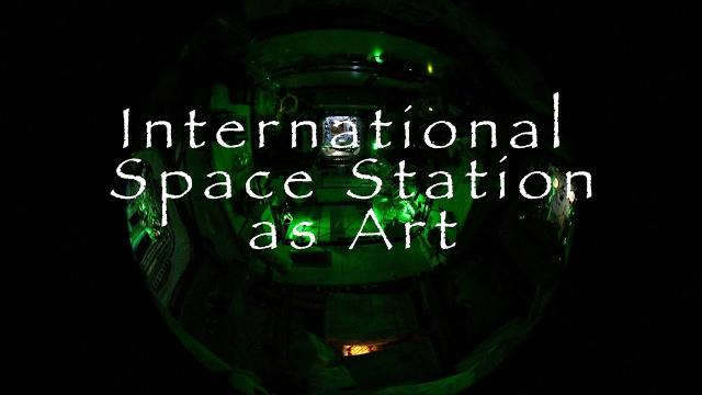 International Space Station as Art