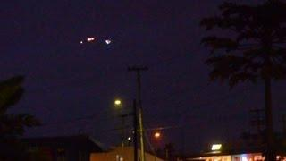 UFO Sightings Mysterious Lights Captured By Multiple Witnesses Dec 3 2012