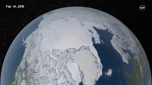 Declining Sea Ice Trend Continues - NASA Confirms in 2019