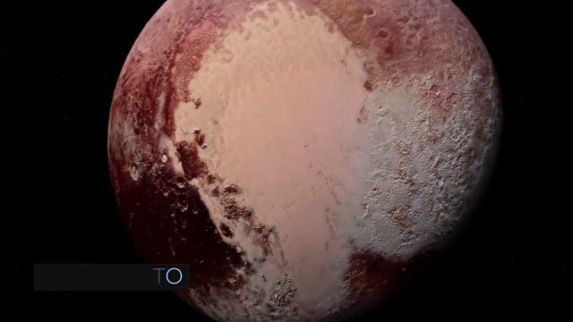 'Exotic Ice Formations' On Pluto Discovered Using New Horizons' Imagery