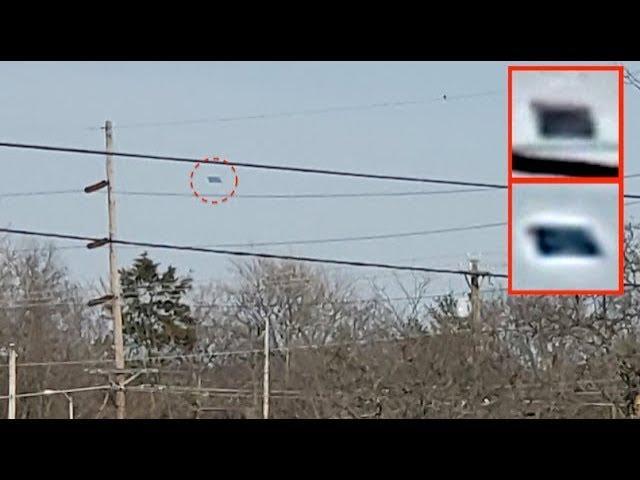 Dark Black UFO Seen In Daytime Over Springdale, Ohio