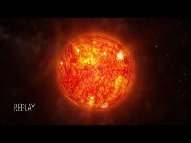 See the Solar Wind Blast Away From Sun in NASA Animation