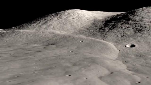 Moon's Lee Lincoln Scarp Visualized Using Orbiter Imagery