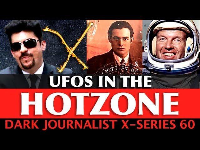 DARK JOURNALIST X-SERIES 60: UFOS IN THE HOTZONE! BIMINI ATLANTIS SPACE MYSTERY!