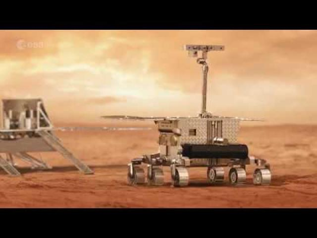 Meet Mars Rover Prototype 'Bruno' - Preparing ESA for Exploration