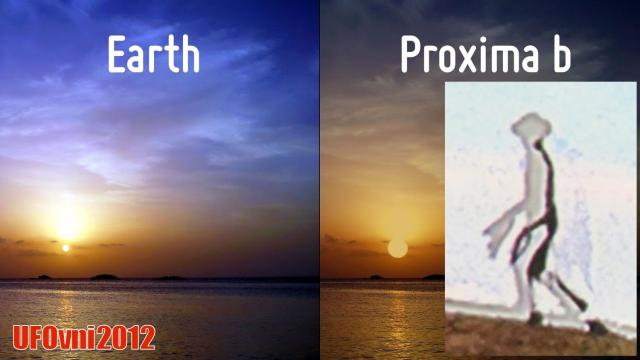 UFO Researchers: 8 Foot Humanoid Aliens From Proxima B Visited Earth in 2012 ...