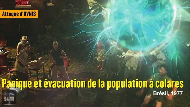 Attaque d'ovnis : Panique et évacuation de l'île de Colares au Brésil - 1977