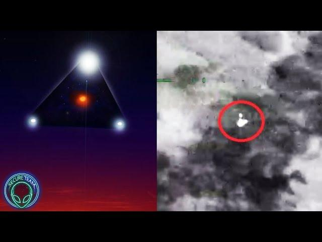 Whoa!.. New LEAKED Gov Footage Of FAST Moving UFO