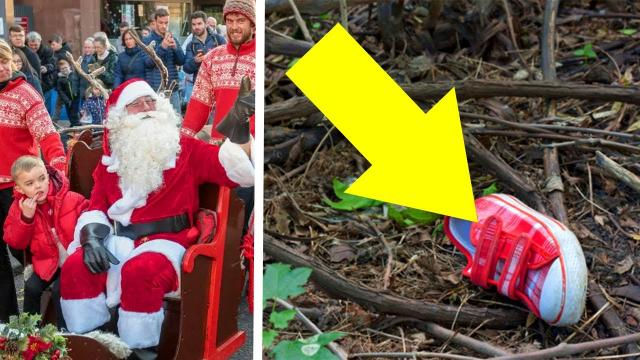 When The Cops Dug Up A Walmart Santa's Back Yard, They Made An Unsettling Discovery Beneath The Dirt
