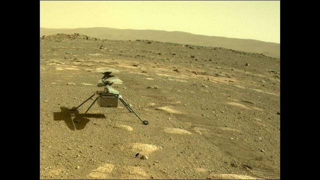 NASA helicopter on Mars set to take flight this week.