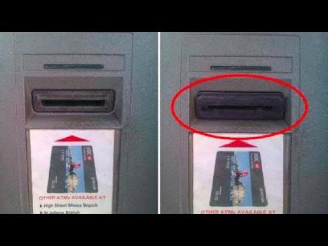 Scammers Are Using A New Trick To Steal Your Info  If You See THIS At The ATM, Be Warned…