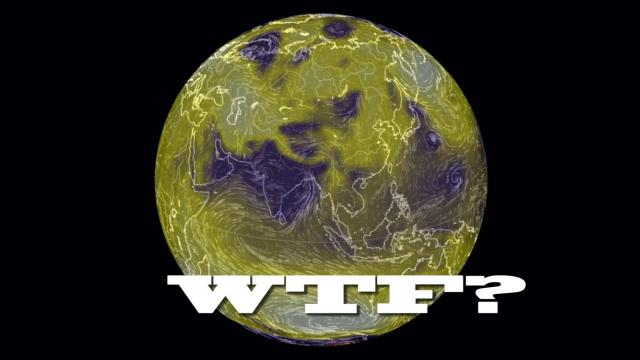 Simple Weird Weather WTF? Jet Stream & Mean Sea Level Pressure