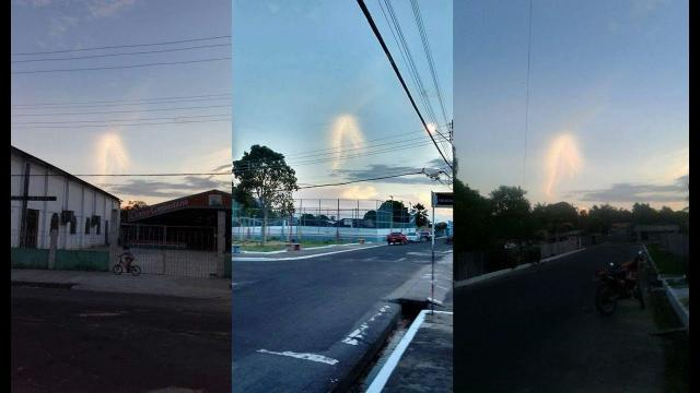 Apparition in Brasil, scares residents and photos went viral on the internet