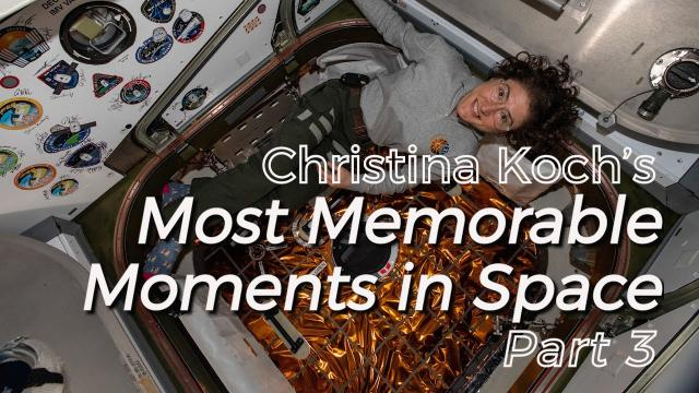 Christina Koch's Memorable Moments: Part 3