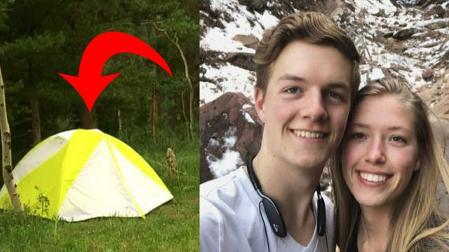This Teen Saw A Flash of Light While Camping, You Won't Believe What She Found Outside Her Tent